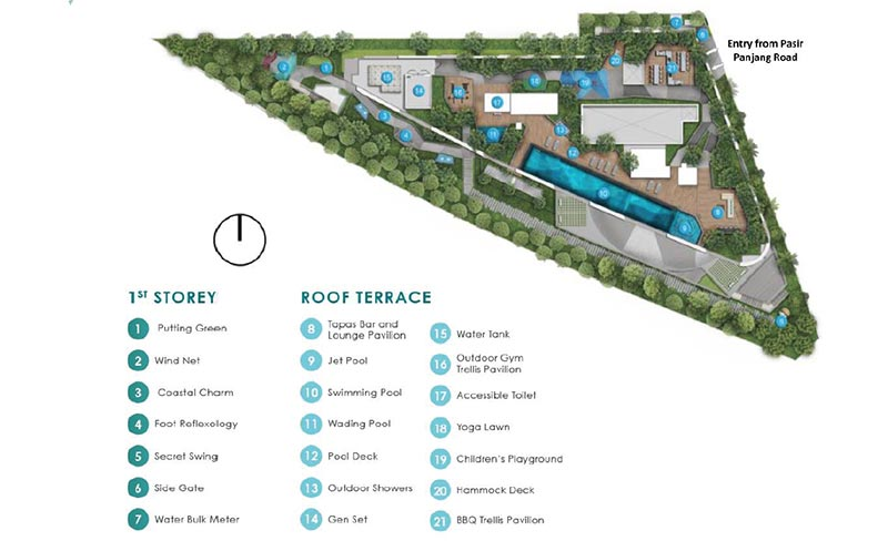 Harbour View Gardens Sitemap